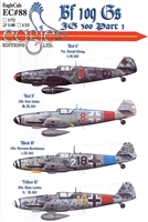 EagleCals EC#48-088 - Bf 109 G, JG 300, Part 1