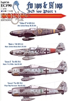 EagleCals EC#48-090 - Fw 190s & Bf 109s, JG 300, Part 3