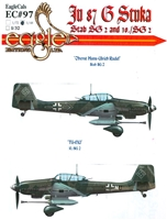 EagleCals EC#48-097 - Ju 87 G Stuka (Stab SG 2 and 10./ SG2)