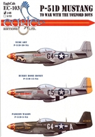 EagleCals EC#48-103 - P-51D Mustang, To War with the Yoxford Boys (Hurry Home Honey...)