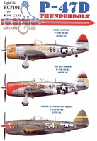EagleCals EC#48-104 - P-47D Thunderbolt (Chief Seattle...)