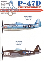 EagleCals EC#48-105 - P-47D Thunderbolt (Daddy Rabbit...)