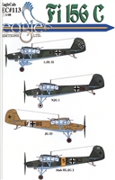 EagleCals EC#48-113 - Fi 156 C, Fieseler Storch, Part 2