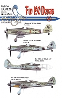 EagleCals EC#48-126 - Fw 190 Doras (Brown 4...)