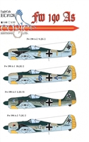 EagleCals EC#48-128 - Fw 190 As