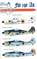 EagleCals EC#48-129 - Fw 190 As