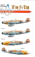 EagleCals EC#48-130 - Bf 109 F-4/Trop, Part 1