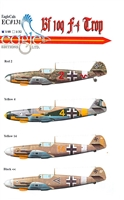 EagleCals EC#48-131 - Bf 109 F-4/Trop, Part 2