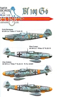 EagleCals EC#48-132 - Bf 109 G-6 (Erich Hartmann...)