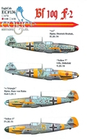 EagleCals EC#48-136 - Bf 109 F-2 (Dietrich Hrabak...)