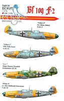 EagleCals EC#48-137 - Bf 109 F-2 (Heinz Jahner...)