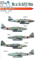 EagleCals EC#48-138 - Me 262 As KG(J) Units