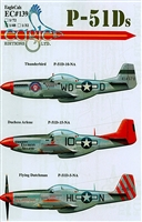 EagleCals EC#48-139 - P-51Ds (Thunderbird...)