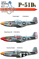 EagleCals EC#48-141 - P-51Ds (Feeble Eagle...)