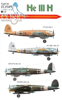 EagleCals EC#48-149 - He 111 H