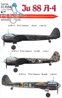 EagleCals EC#48-154 - Ju 88 A-4