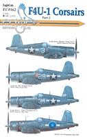 EagleCals EC#48-162 F4U-1 - Corsairs, Part 2