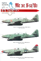EagleCals EC#48-170 - Me 262 B-1a/U1