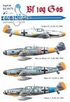 EagleCals EC#48-171 - Bf 109 G-6s