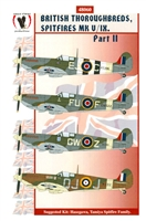 Eagle Strike 48060 - British Thoroughbreds, Spitfires Mk V / IX, Part II