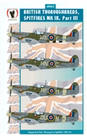 Eagle Strike 48061 - British Thoroughbreds, Spitfires Mk IX, Part III