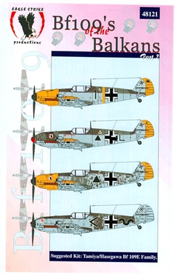 Eagle Strike 48121 Bf109's of the Balkans, Part 2