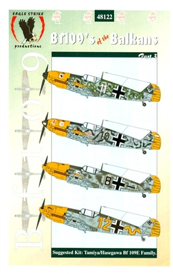 Eagle Strike 48122 Bf109's of the Balkans, Part 3