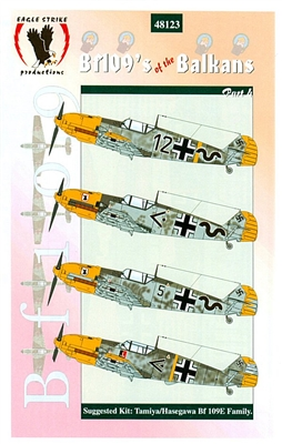 Eagle Strike 48123 Bf109's of the Balkans, Part 4