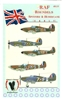 Eagle Strike 48135 RAF Roundels, Spitfire & Hurricane (early)