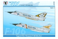 Eagle Strike 48219 The Six Convair F-106 Delta Dart, Part 4