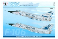 Eagle Strike 48220 - The Six Convair F-106 Delta Dart, Part 5