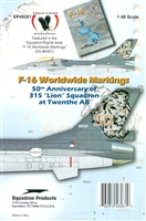 "Eagle Strike 48261 - 50th Anniversary of 315 ""Lion"" Squadron at Twenthe AB"