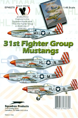 Eagle Strike 48270 - 31st Fighter Group Mustangs