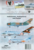 Eagle Strike 48271 - MiG-17 Fresco (Indonesian, Vietnamese and Polish)