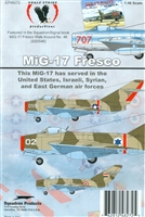 Eagle Strike 48272 - MiG-17 Fresco (United States, Israeli, Syrian and East German Air Forces)