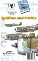 Eagle Strike 48273 - Spitfires and P-47Cs