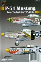 "Eagle Strike 48286 P-51 Mustang, Late ""Bubbletop"" P-51Ds"