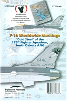 "Eagle Strike 72083 - ""Cold Steel"" of the 175th Fighter Squadron, South Dakota ANG"