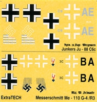 Extra Tech D-13 - Luftwaffe WWII Night Fighting Aces I