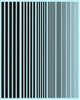 Fundekals 99-002 - Black Stripes (varying widths)