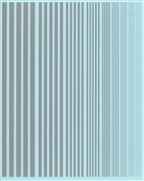 Fundekals 99-005 - Silver Stripes (varying widths)