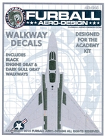 Furball 48046 - USN F-4 Phantom Walkway Decals