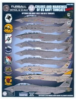 Furball DS4813 - Colors and Markings of the US Navy Tomcats, Part V