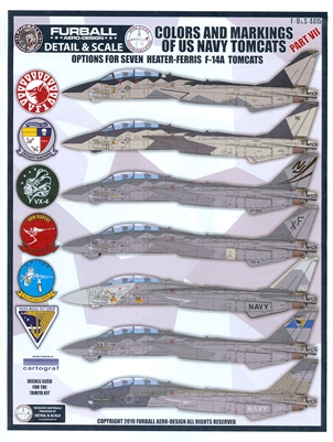 Furball F/D&S-4815 - Colors and Markings of the US Navy Tomcats, Part VII