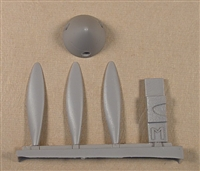 Fusion 4803 - MiG-3 Propeller and Spinner Set