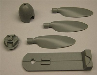 Fusion 4814 - Fw 190D-11 Propeller & Spinner (fits Eduard Fw 190D-11 kits)