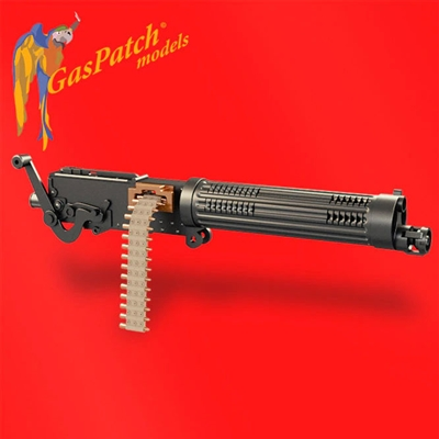 "GasPatch 13-48035 - Vickers 11 mm ""Balloon Gun"" (2 items)"