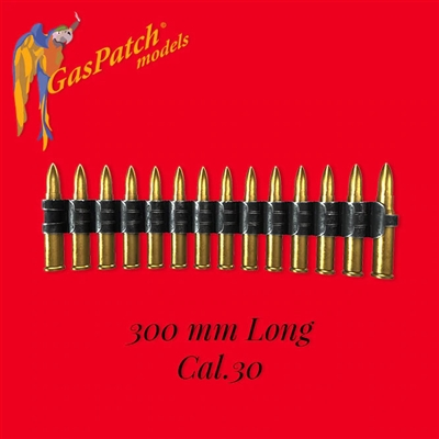 GasPatch 18-48143 - Ammo Belt Flexible Cal.30 (300mm Long)