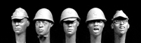 Hornet Heads HAH01 - Japanese Heads WWII