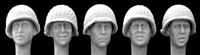 Hornet Heads HUH04 - Heads US M1 Helmet with Netting (used by many nations)